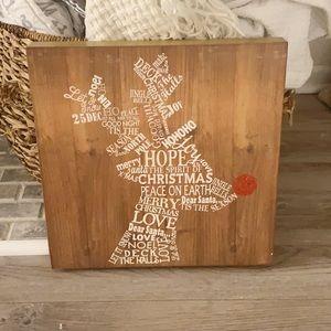 Rudolph holiday farmhouse print
